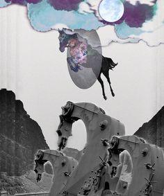 Horse power created with Bazaart by Akira Hashiguchi