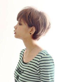 Asian short haircut