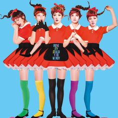 Red Velvet : 안녕하세요 ! 처음이라 어색한데 부족하더라도 재밌게 봐주시면 감사하겠습니다 pinterest :D 드디어 9월 15일 저희 Red velvet 의 신곡 'dumb dumb' 많이많이 사랑해주세요 화이팅 !