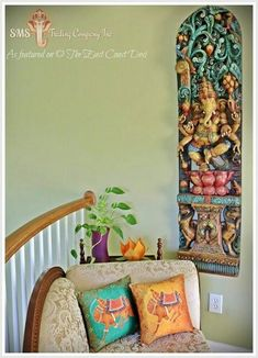 Wiw that Ganesha #IndianHomeDecor