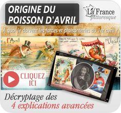 Le journal de BORIS VICTOR : DÉCOUVREZ L'ORIGINE DU POISSON D'AVRIL !