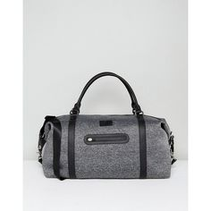 Bag by Abercrombie Fitch, Fabric outer, Fully lined, Twin handles, Detachable strap, Zip-top closure, External pocket, Interior slip pocket, Wipe clean, 95% Po…