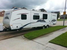 2012 Used Prime Time Lacrosse 318BHS Travel Trailer in Texas TX.Recreational Vehicle, rv, 2012 Prime Time Lacrosse 318BHS, 2012 35' Prime Time LaCrosse 318BHS (BUNKHOUSE) ($22,900.00) - CONTACT CASIE @ 832-370-7488 2 /12 YEARS LEFT ON THE EXTENDED WARRANTY!!!!!!!!!!!!!!! All 4 Brand New Tires, Double Slide, Rear Bunkhouse w/Slide Out Bunk Beds, 2nd Bunk, Entertainment Center Below Bunk, Wardrobe, Rear Exterior OUTSIDE Kitchen w/Range, Sink and Refrigerator & Grill, Tub, Toilet (bathroom has…