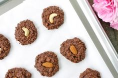 Almond Joy No-Bake Cookies (Gluten & Dairy-Free!)