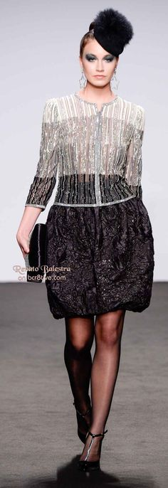 Renato Balestra Fall 2013-14 Couture | with Pin-It-Button on http://bcr8tive.com/renato-balestra-fall-2013-14-couture/
