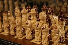 whittle chess pieces | How to Carve a Wooden Chess Set thumbnail
