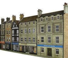 Narrowboats and Lock - Scalescenes Building Systems, Model Building, Ceiling Detail, Glitter Houses, Model Train Layouts, Shop Interiors, Paper Models, Shop Signs, Model Trains