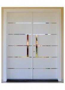 66 Ideas For Main Glass Door Design Modern Entrance Door, Front Door Entryway, Modern Front Door, Entrance Doors, Door Gate Design, Main Door Design, Front Door Design, Custom Wood Doors, Wooden Doors