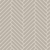herringbone_greige wall decal by ravynka for sale on Spoonflower - custom wall decals