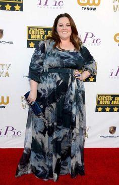 Melissa McCarthy- Plus Sized Style Icons