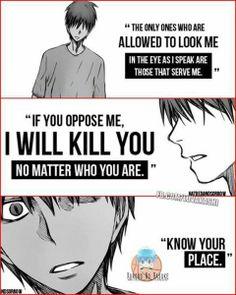 Akashi Seijuuro Quotes - Kuroko no Basuke manga | @Fb