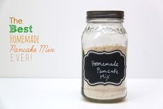 Smashed Peas and Carrots: RECIPE: The Best Homemade Pancake Mix Ever!