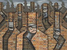 Was Britain the only country to use children to sweep chimneys? Some German visitors were surprised to learn that we used to use children to sweep chimneys. Surely Britain was not the only nation to do so? Illustration by Glen McBeth