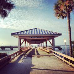 It's Take Me Away Tuesday! What's your favorite vacation spot? #dock #pier #beach #stsimons #GA #exploreGA #TMA