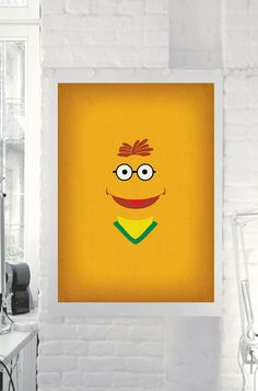 The Muppet Show Scooter Minimalist Poster www.etsy.com/shop/TheRetroInc