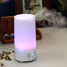 New Colorful LED Night Light Air Humidifier Ultrasonic Essential Oil Aroma Diffuser Aromatherapy Home Office Mist Maker Fogger