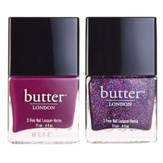 butter LONDON 'Her Majesty's Holiday' Nail Lacquer Duo (Nordstrom... found on Polyvore