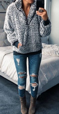 Outfit invierno How to wear fall fashion outfits Hipster Outfits, Winter Fashion Outfits, Casual Fall Outfits, Mode Outfits, Look Fashion, Autumn Winter Fashion, Trendy Outfits, Trendy Fashion, Fashion Trends