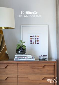 10-Minute DIY Artwork | Inspired by Charm