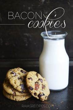 Bacon Cookies | gluten-free, corn-free | RaiasRecipes.com