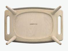 脚凳 PP120 by PP Møbler | 设计师Hans J. Wegner