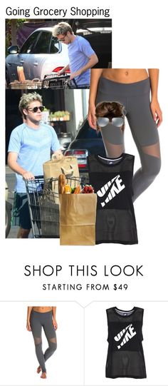 """""""Family Series Part 4 (Niall)"""" by kateremington-1 ❤ liked on Polyvore featuring Alo Yoga, NIKE and Ray-Ban"""