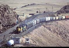 RailPictures.Net Photo: UP 3121 Union Pacific EMD SD40 at Dale Junction, Wyoming by Charles Stookey