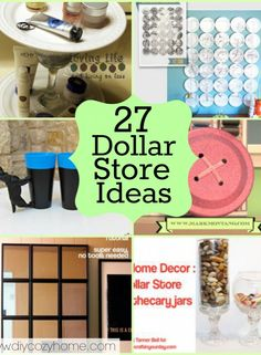 Tons of Dollar Store Craft & Decor Projects to Make — Saved By Love Creations