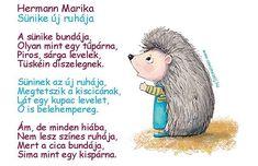 🍁🍂🦔 Mesés vers ovisoknak 😊 #anyamesélj #hermannmarika #süni #vers Kindergarten, Teddy Bear, Hedgehog, Kindergartens, Teddy Bears, Preschool, Preschools, Pre K, Kindergarten Center Management