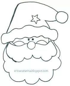 15 DIY Santa Claus Sewing Patterns and Ideas Felt Christmas Decorations, Felt Christmas Ornaments, Christmas Colors, Christmas Pillow, Christmas Holidays, Christmas Sewing, Christmas Embroidery, Christmas Crafts, Christmas Applique