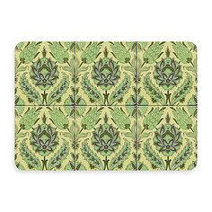 This mat is pretty enough to go anywhere in your home, with its soft yellows and green French country floral. It'll provide a decorative touch as well as a no-slip spot, and cushioning for wet, tired or cold feet.