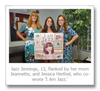 Jazz Jennings, a 13-year-old trans girl, reads from her upcoming children's book (with video) | Steve Rothaus' Gay South Florida