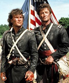 North & South - Part 1 Romantic series based on the epic novel by John Jakes. It is 1842, and two military cadets (Patrick Swayze, James Read) form a bond during the Civil War that threatened to tear the US in two.