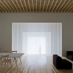 Japanese Layered House evokes the serenity of a temple