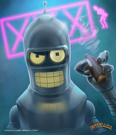 Futurama - Bender B. Rodriguez by Aioras on DeviantArt