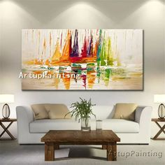 "Universe of goods - Buy ""Canvas oil painting caudros decoracion Acrylic boat sailing abstract painting wall art picture for living room home decor quadro"" for only 59 USD. Boat Painting, Oil Painting Abstract, Rooms Home Decor, Room Wall Decor, Living Room Pictures, Wall Art Pictures, Wall Prints, Canvas Art Prints, Cheap Wall Art"