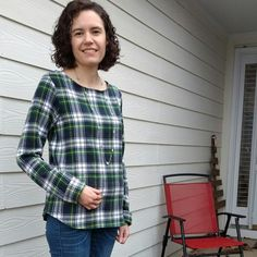 Tricia's Shoreline Boat Neck by Blank Slate Patterns | Indiesew.com