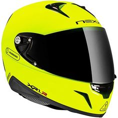 Nexx XR1R Neon Yellow motorcycle helmet, available from ForMotorbikes.com with FREE UK delivery and worldwide shipping.    Be seen!
