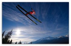 Ski Jumping Wallpaper | Sky HD Wallpaper