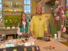 Watch Martha Stewart's Girl Scout Jewelry Badges Video. Get more step-by-step instructions and how to's from Martha Stewart.