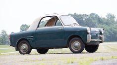 1959 Autobianchi Bianchina First Series Transformable Coupe Bonhams Simeone auction