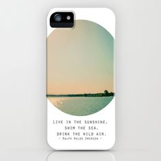 Swim The Sea iPhone Case