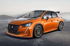Peugeot 208 Rally Design - Is What The Next GTI In WRC-Spec Should Look Like We already have a crazy-styled compact hot hatch, the Honda Civic Type R, so why. Peugeot 208 Gti, Peugeot 3008, Ds3 Citroen, Clio Rs, Porsche, Automobile, Hyundai I20, Toyota, Ford Fiesta St