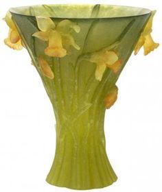 Daum Pate-de-Verre Vase