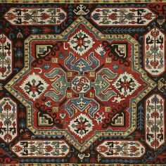 Caucasian silk embroidered panel as seen at the Mother See of Holy Echmiadzin Treasury, Armenia on the HALI Tour May 2016 #halitour #culturaltravel #carpet #rug #textiles #ruglove #echmiadzin #silk #embroidery #motif