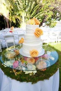 Cake Table Decoration by Passion Roots