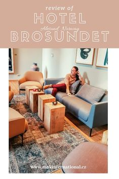 Review of the cozy Norwegian hotel Brosundet in Alesund