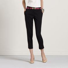 Kate Spade- black capris... Can't wait till its warm enough so I can wear capris to work again!