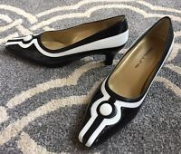 Bellini Black and white Pumps Size 6.5W ~ Never worn