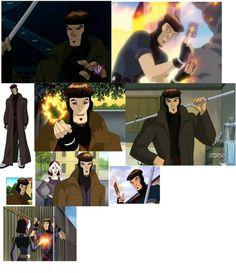Gambit X-Men Evolution by MARscianimefiVEL on DeviantArt